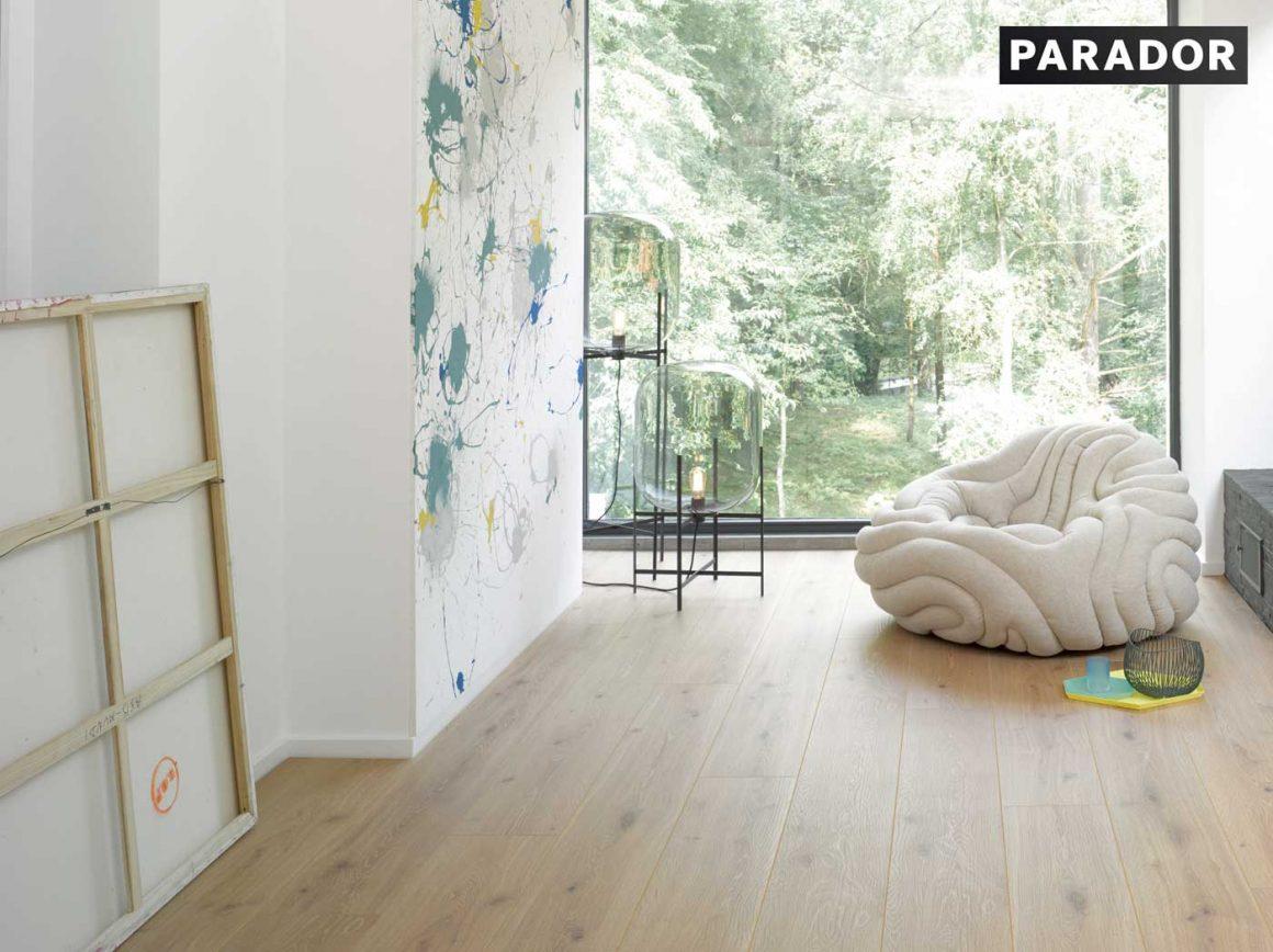 Vackert golv som passar alla hem