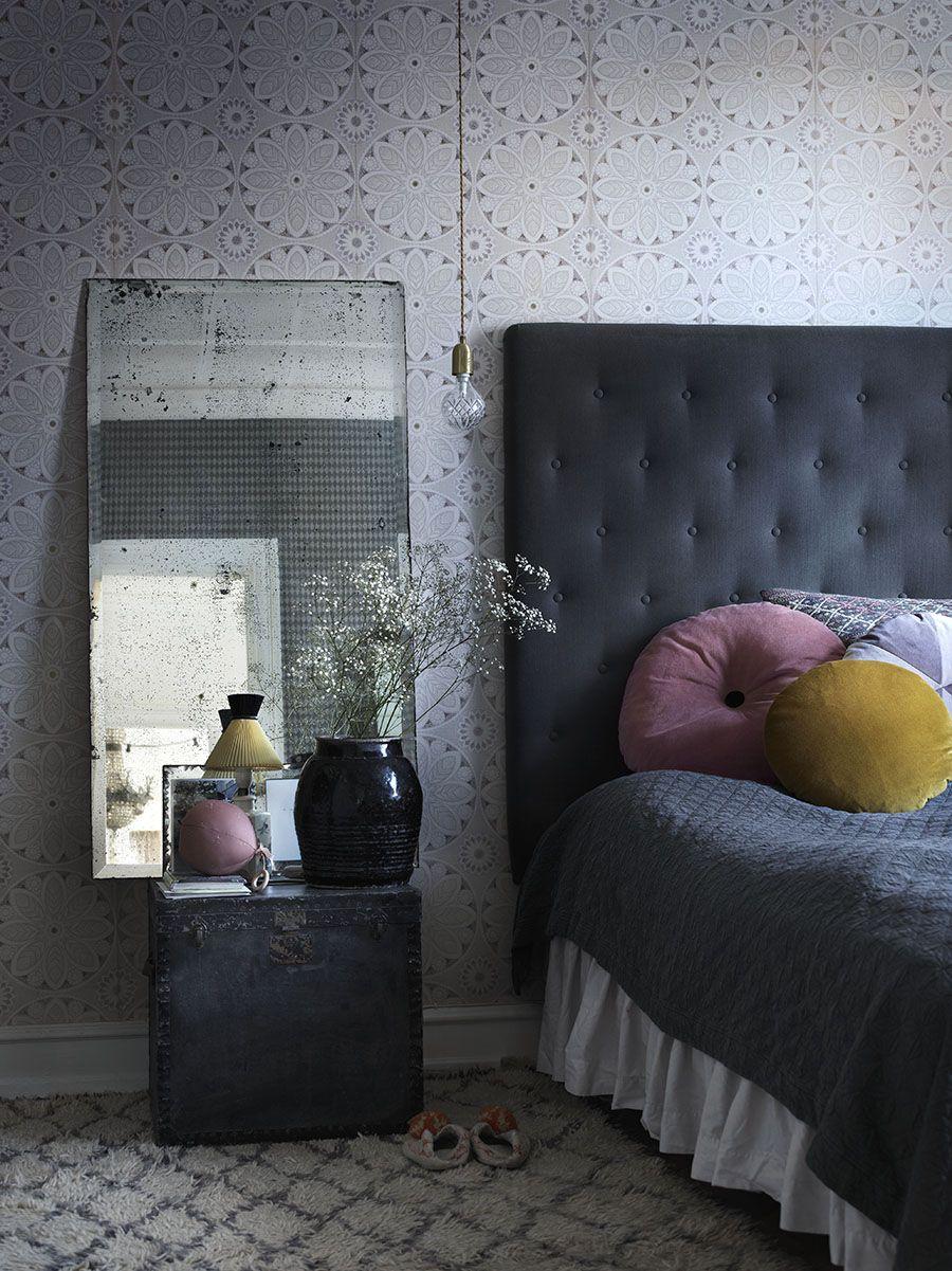 Vackra idéer för sänggaveldesign