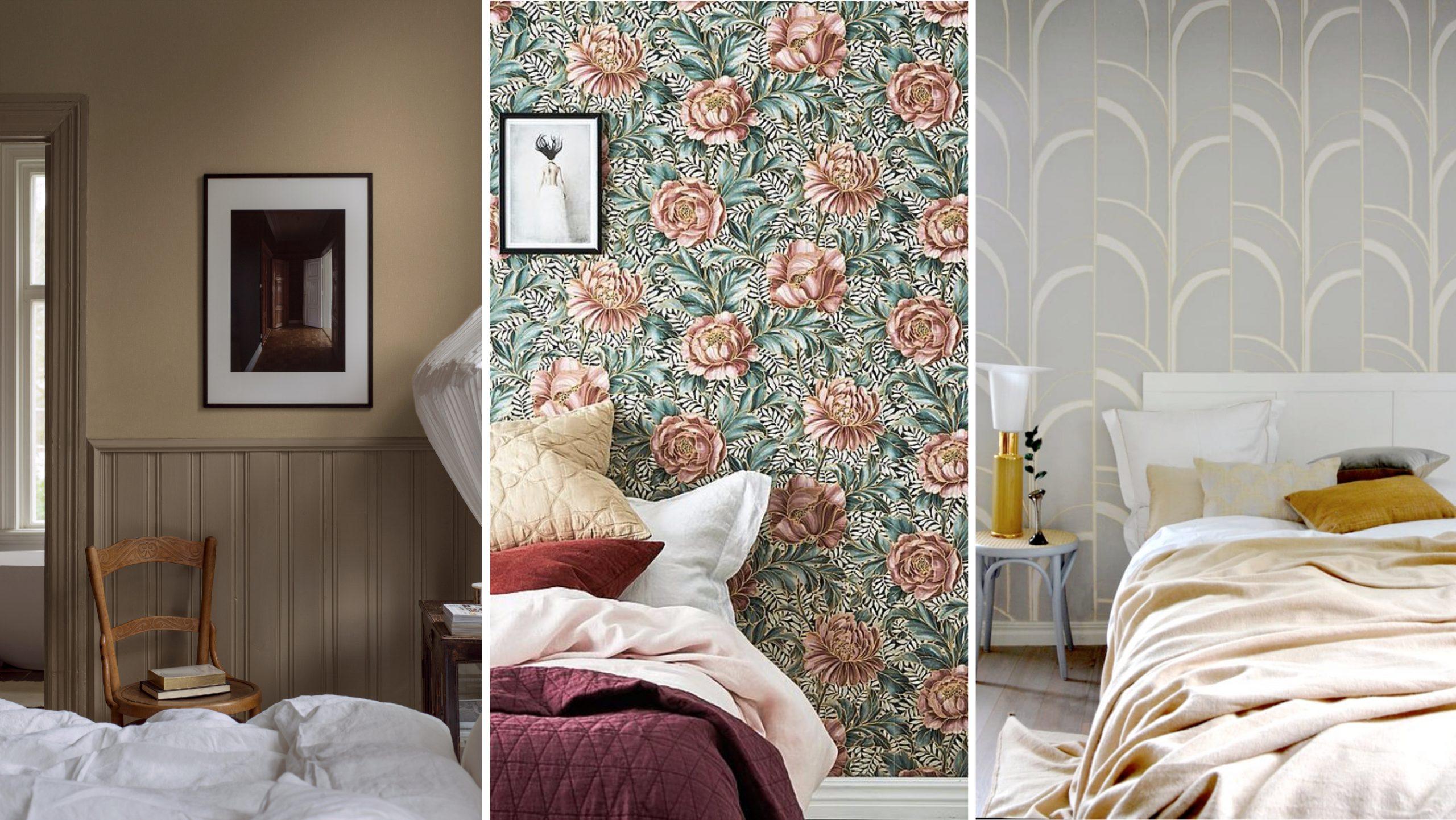 Vackra rum tapeter idéer för ditt hem