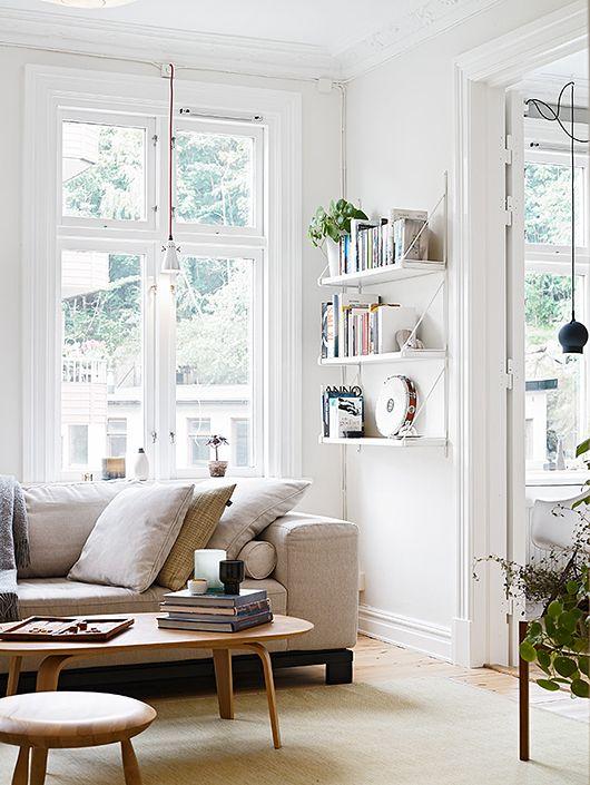 Vardagsrumsdesignstilar för trendiga hem