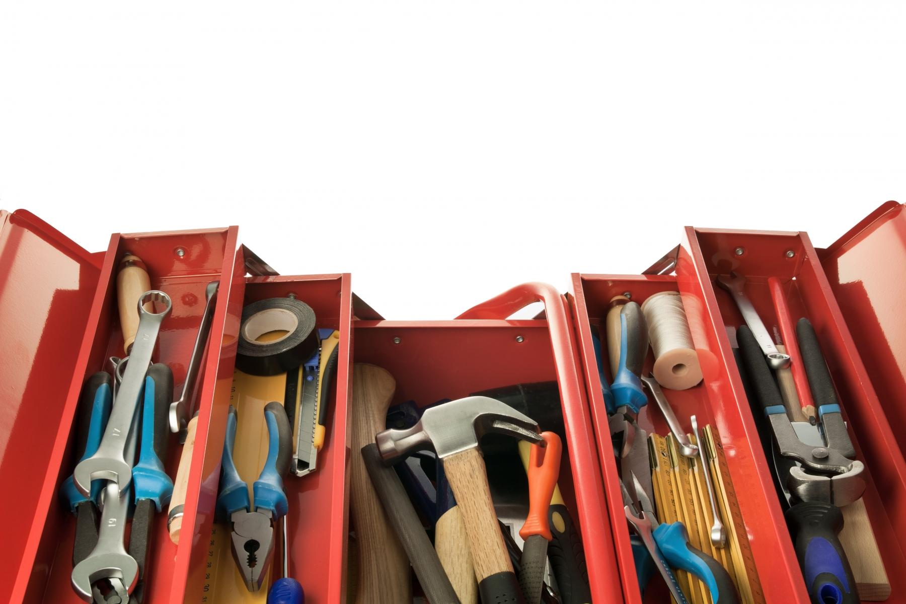 Verktyg som varje gör-det-själv behöver i sin verktygslåda