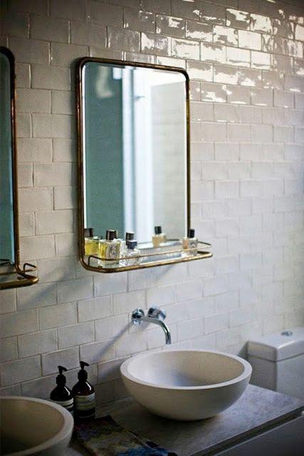 Vintage badrum idéer