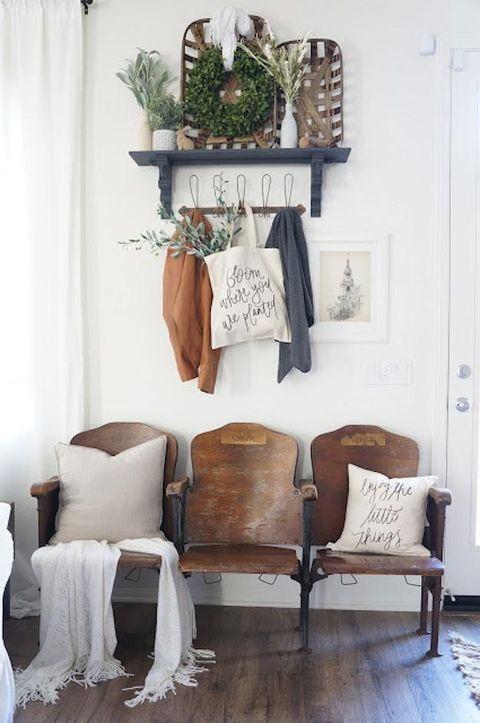 Vintage heminredning stil och idéer