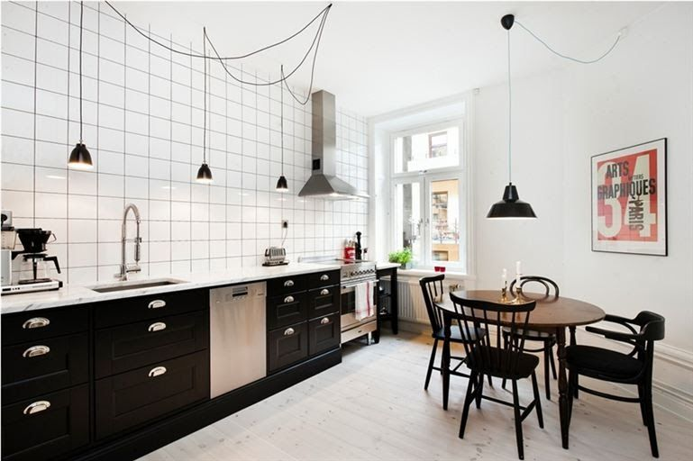 Vintage kök belysning idéer
